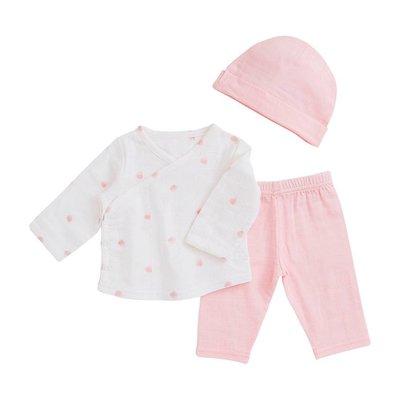 aden+anais rose water dot newborn set