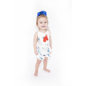 """Lincoln&Lexi The """"Fiona"""" Floral Romper"""