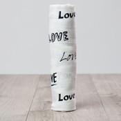 lulujo Lulujo Love Bamboo Swaddle – 47×47″