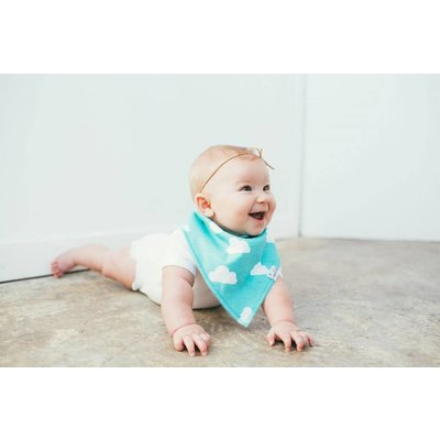 Copper Pearl baby bandana bibs - aztec