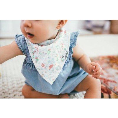 Copper Pearl baby bandana bibs - claire