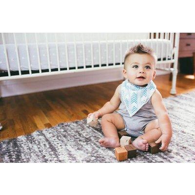 Copper Pearl baby bandana bibs - jude