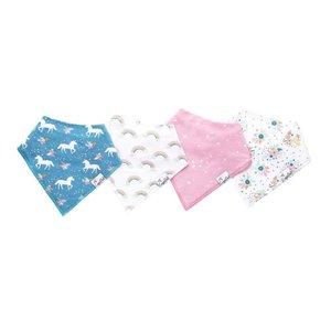 Copper Pearl baby bandana bibs - whimsy