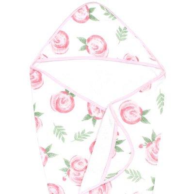Copper Pearl Muslin Hooded Towel - Grace