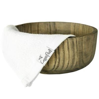 Copper Pearl Copper Pearl Wash Cloths - White