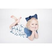 Kickee Pants Print Classic Short Sleeve Swing Dress (Natural Mermaid)