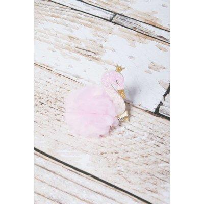 Lincoln&Lexi Swan Puff Beauty Clip