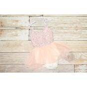 Lincoln&Lexi The Peach Ballerina Tutu Dress