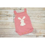 Lincoln&Lexi Little Bunny Cotton Tail - Pink