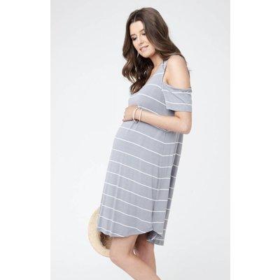 Ripe Maternity Cut Out Shoulder Dress