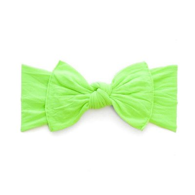 Baby Bling Knot (Neon Lime Green)