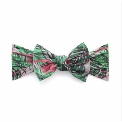 Baby Bling Printed Knot (tropical flamingo)
