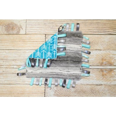 Lincoln&Lexi The Teal Archer Ribbon Blanket