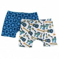 Kickee Pants Boxer Briefs Set (Samba and Ipanema)