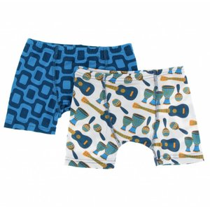Kickee Pants Boxer Briefs Set (Samba and Ipanema)