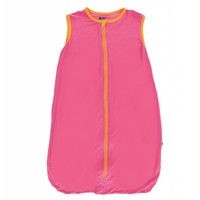Kickee Pants Solid Lightweight Sleeping Bag (Flamingo with Tamarin)