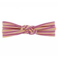 Kickee Pants Print Knot Headband (Flamingo Brazil Stripe)