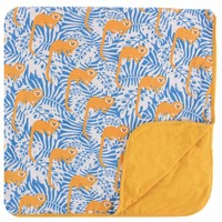 Kickee Pants Print Toddler Blanket (Tamarin Monkey)