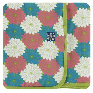 Kickee Pants Print Swaddling Blanket (Tropical Flowers)