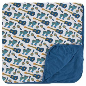 Kickee Pants Print Toddler Blanket (Samba)