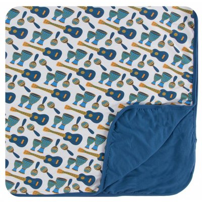 Kickee Pants Print Toddler Blanket (Samba)