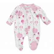 Magnificent Baby Pink Up In The Air Modal Magnetic Footie