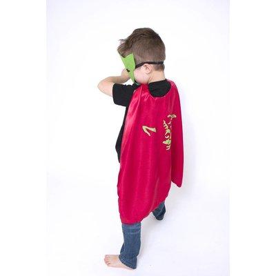 Lincoln&Lexi Superhero Cape & Masks-Yoda