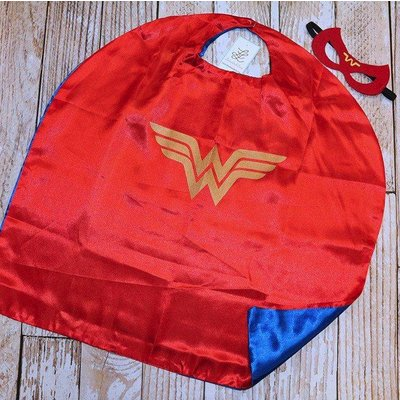 Lincoln&Lexi Superhero Cape & Masks- Wonder Woman