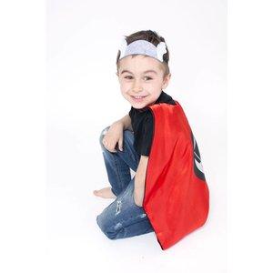 Lincoln&Lexi Superhero Cape & Masks-Thor