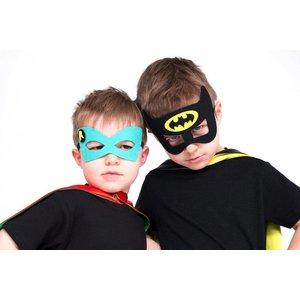 Lincoln&Lexi Superhero Cape & Masks-Robin
