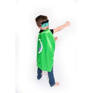 Lincoln&Lexi Superhero Cape & Masks-Hulk