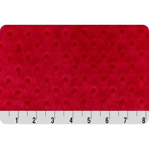 Red Minky Dot