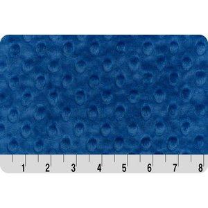 Royal Blue Minky Dot
