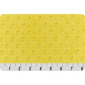 Lincoln&Lexi Bright Yellow Minky Dot