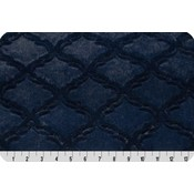 Lincoln&Lexi Navy Lattice