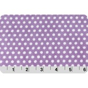 Lincoln&Lexi Lilac Swiss Dot Cuddle