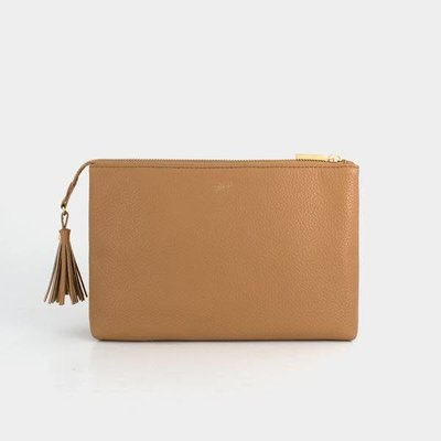 Freshly Picked Butterscotch Zip Pouch