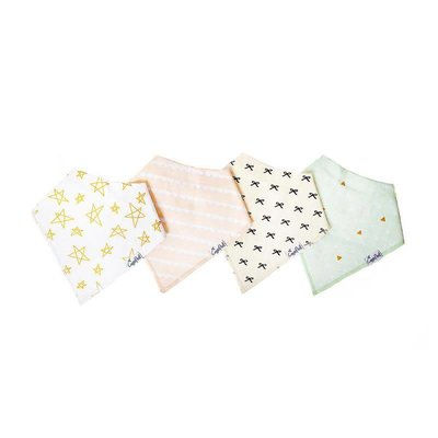 Copper Pearl baby bandana bibs - paris