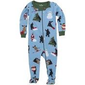 Hatley Ornaments Footed Coverall