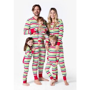 Hatley Union Suit - Christmas Stripe