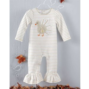 Mud Pie Pre Order- Boucle Turkey One-Piece