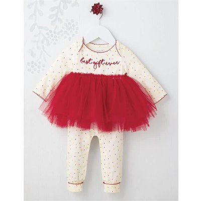 Mud Pie Pre Order- Best Gift Ever Tutu One-Piece