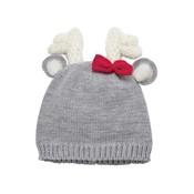 Mud Pie Deer Bow Knitted Hat