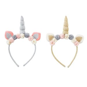 Mud Pie Pre Order- Plush Unicorn Headbands