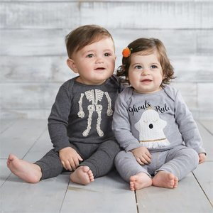 Mud Pie Skeleton Two-Piece Set
