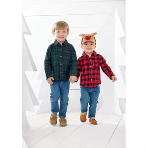 Mud Pie Pre Order- Alpine Village Button-Down Shirts