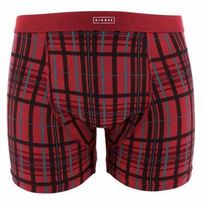 Kickee Pants Holiday Men's Boxer Brief Set (Christmas Plaid & Cedar Vintage Ornaments)