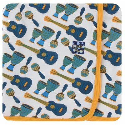 Kickee Pants Print Swaddling Blanket (Samba)