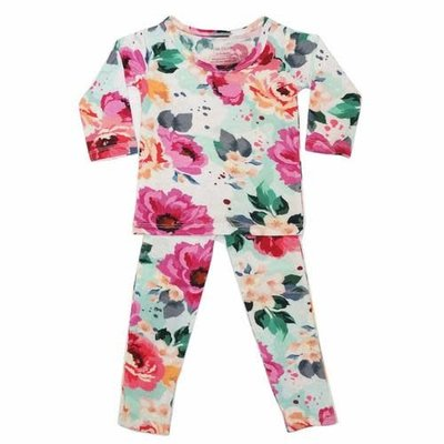 Fuchsia Wild Flower Loungewear