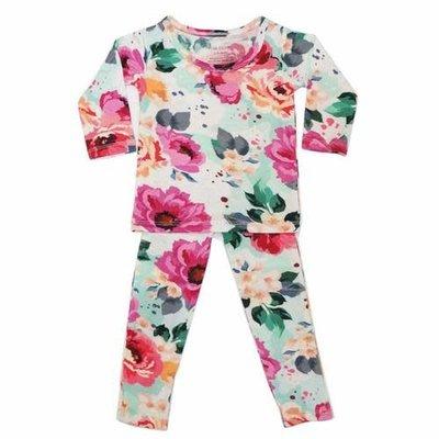 Posh Peanut Fuchsia Wild Flower Loungewear